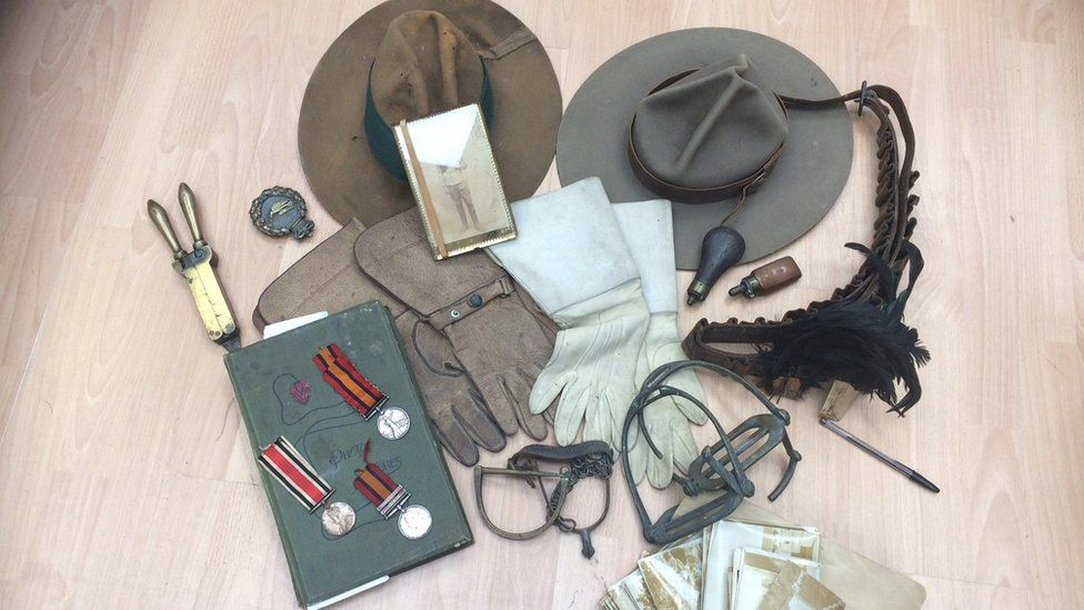 Boer War collection