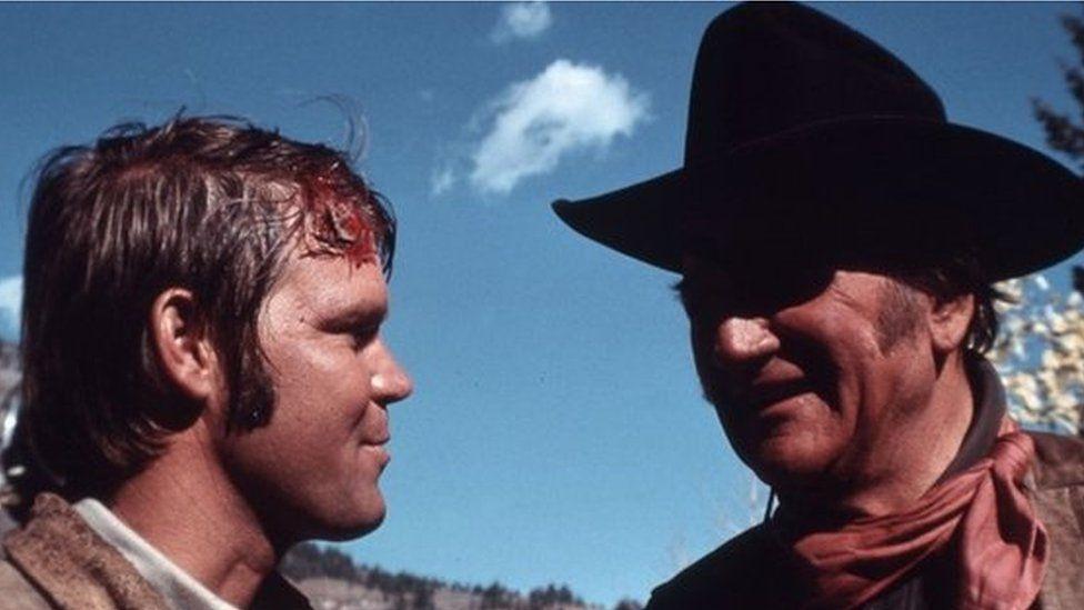 Glen Campbell & John Wayne in True Grit
