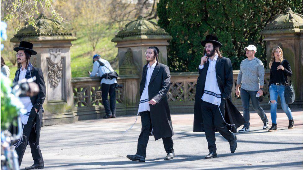 Orthodox Jews are especially vulnerable due to their distinctive attire