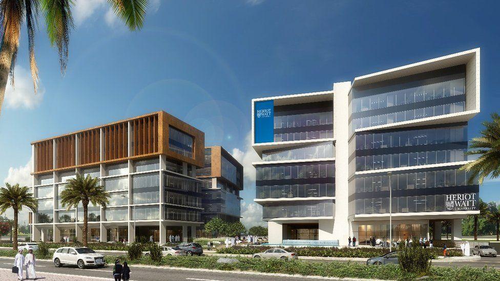 Heriot-Watt building in Dubai
