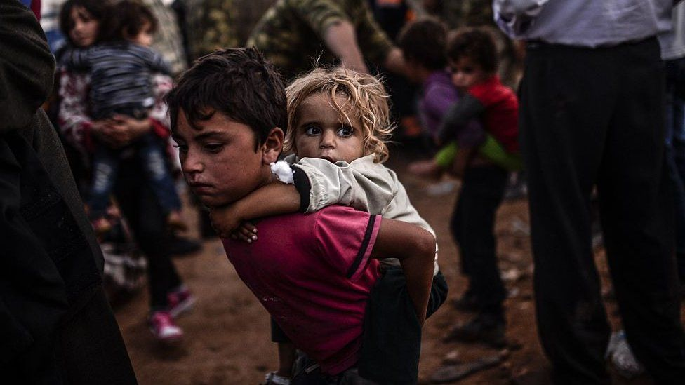 Refugee children