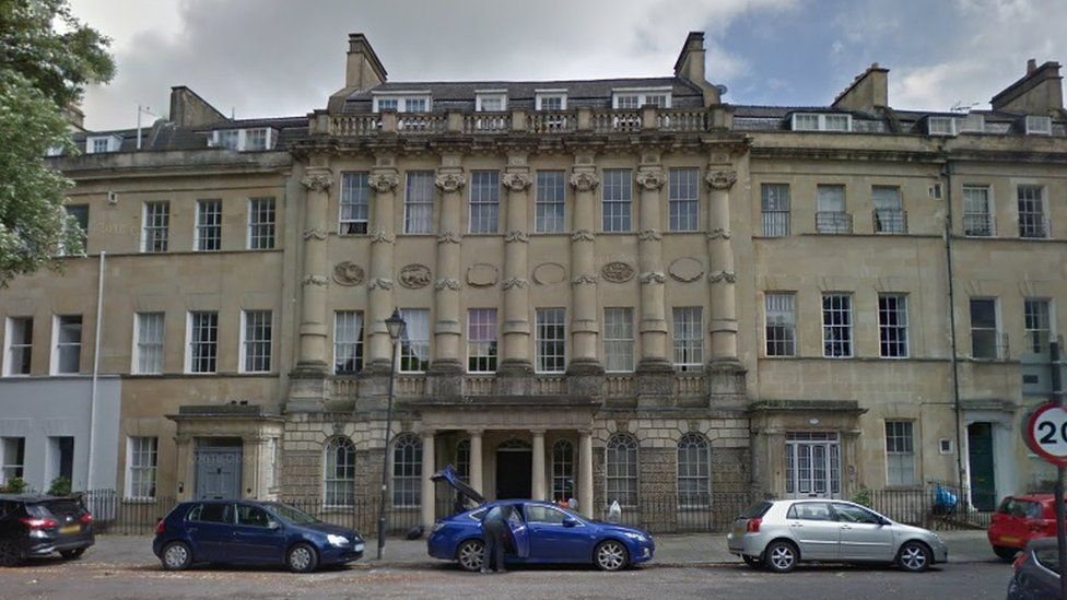 Number 23 Grosvenor House in Bath