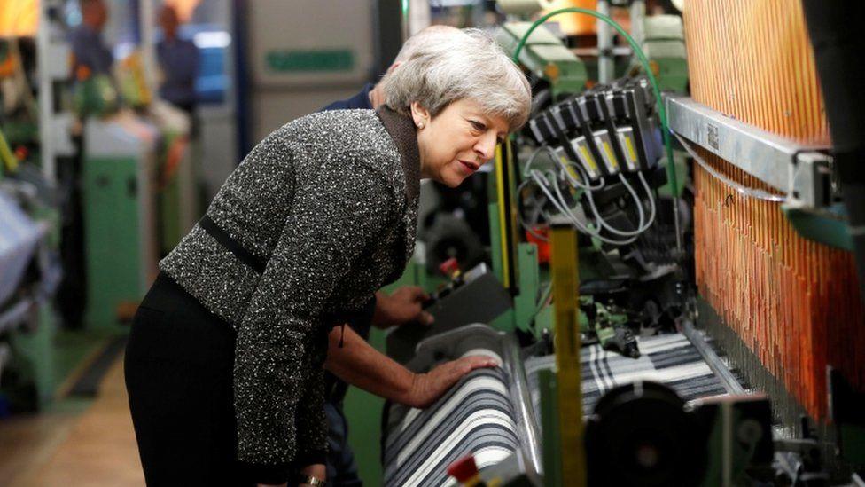 Theresa May in Ayr