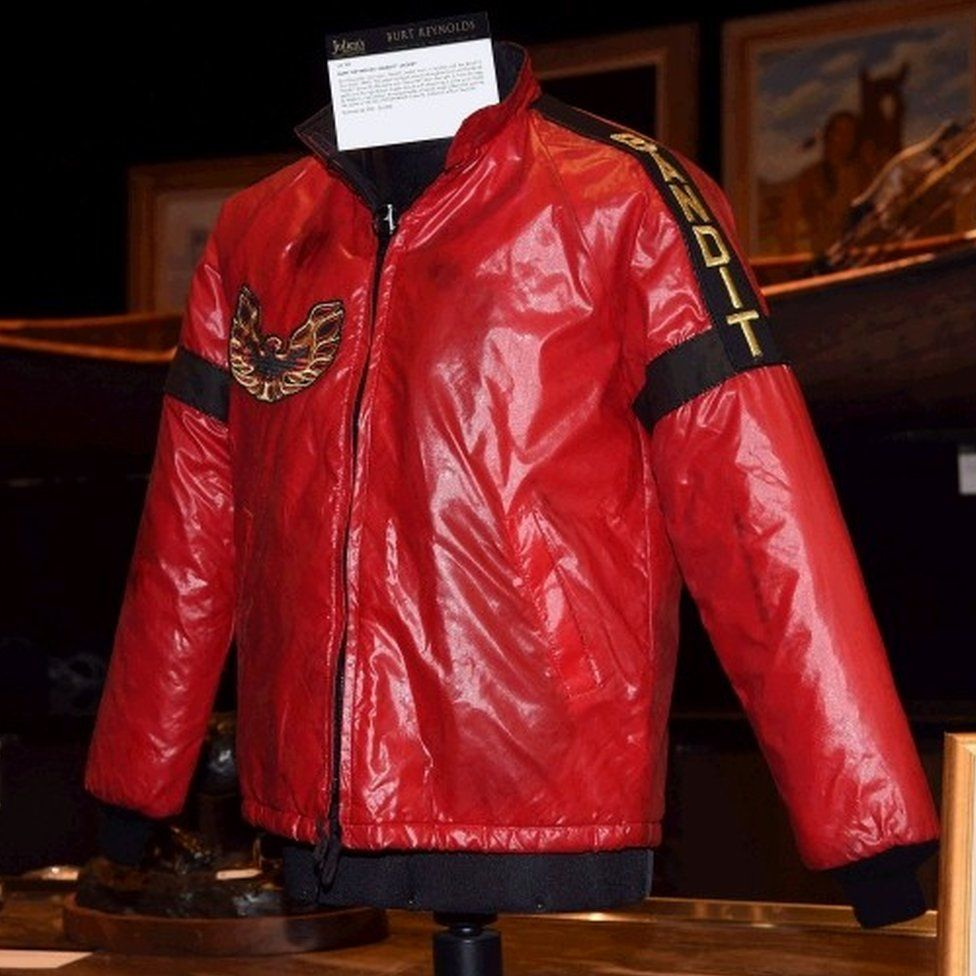 Burt Reynolds's Bandit jacket