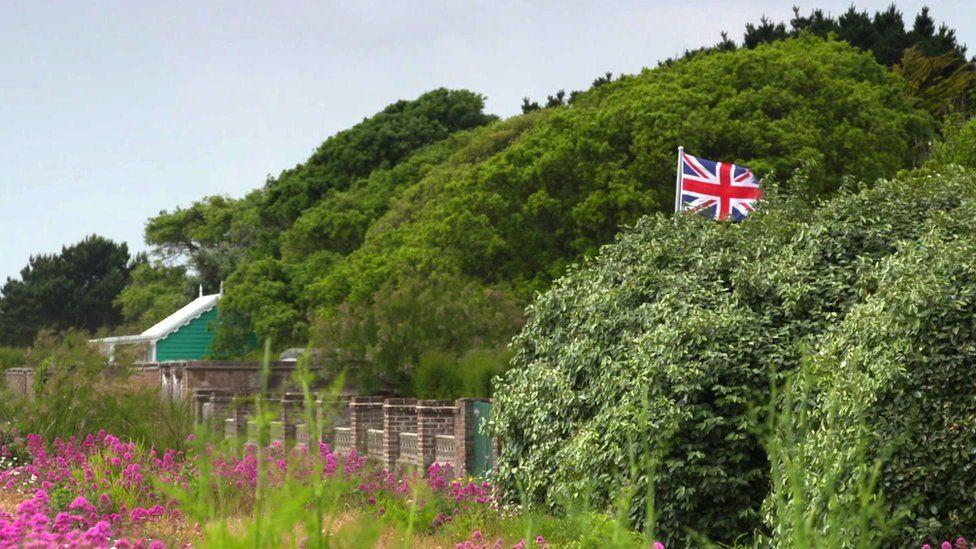 A Union Jack flag