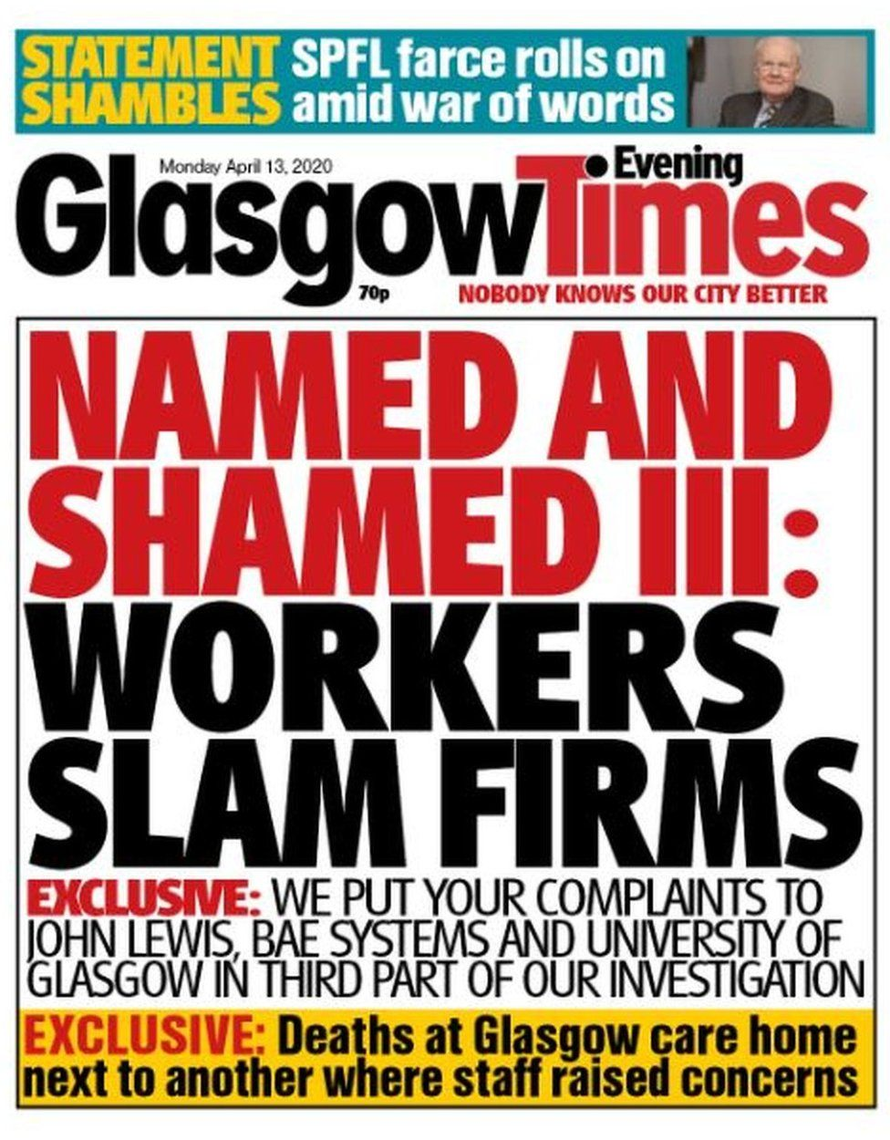 Glasgow Evening Times