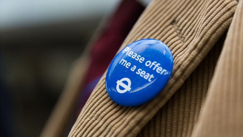 Transport for London has started the Please Offer Me A Seat badge-wearing initiative to support those with hidden disabilities