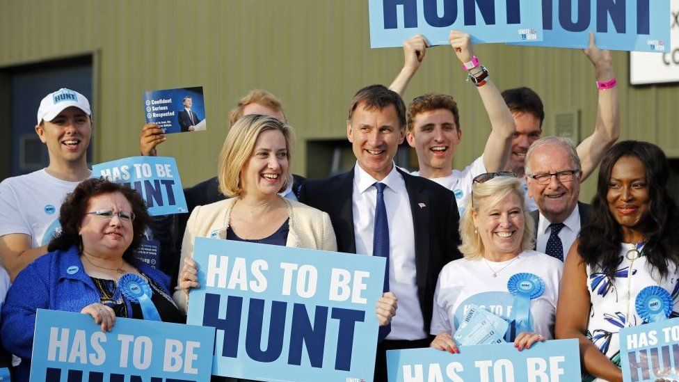 Jeremy Hunt campaigning