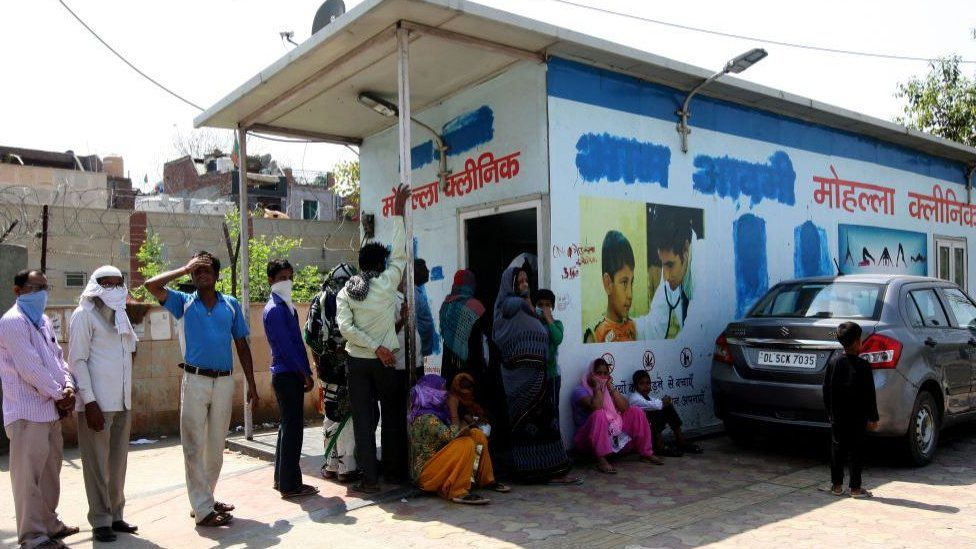 """Many of the city's poor rely on its """"mohalla"""" clinics"""