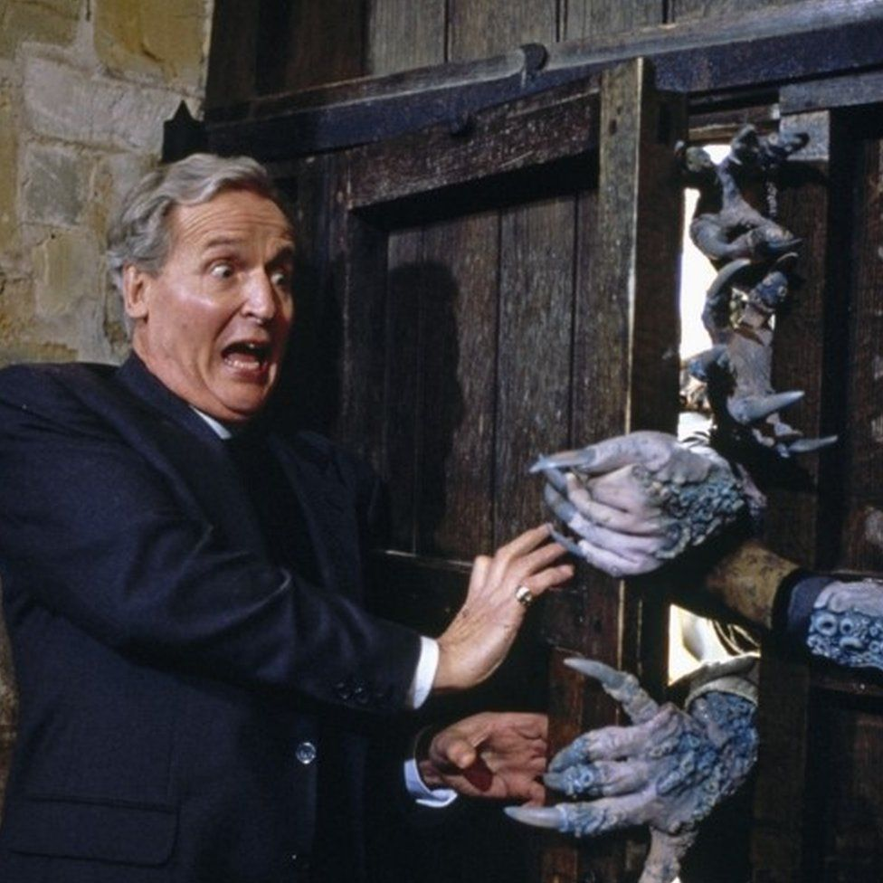 Nicholas Parsons in The Curse of Fenric