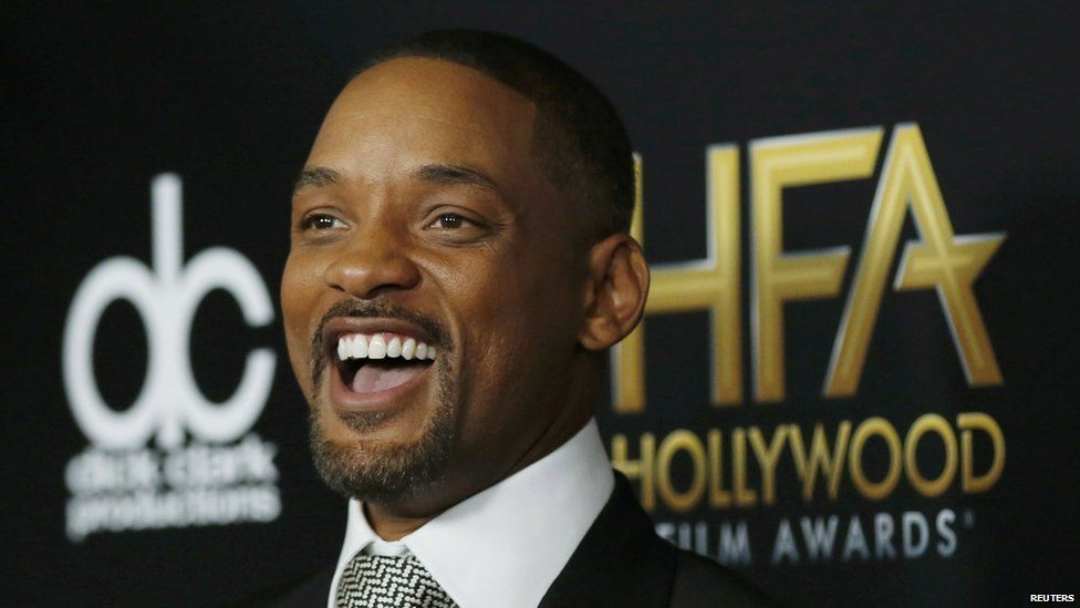 Will Smith earlier this month at the Hollywood Film Awards