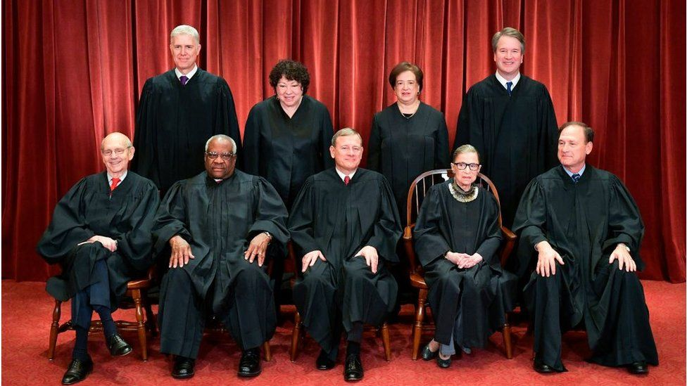 Justices official photo