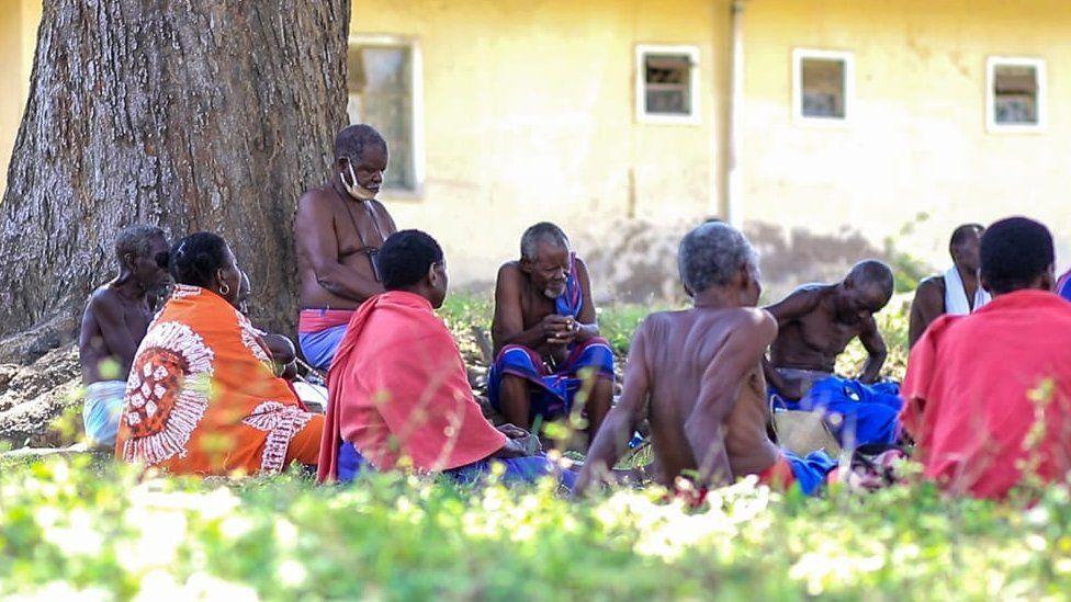 Kaya elders in Kilifi in coastal Kenya