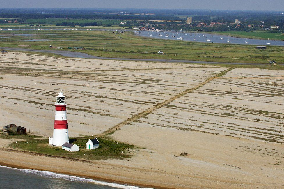 Orford Ness and its lighthouse
