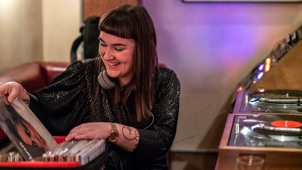 DJ and broadcaster Anne Frankenstein