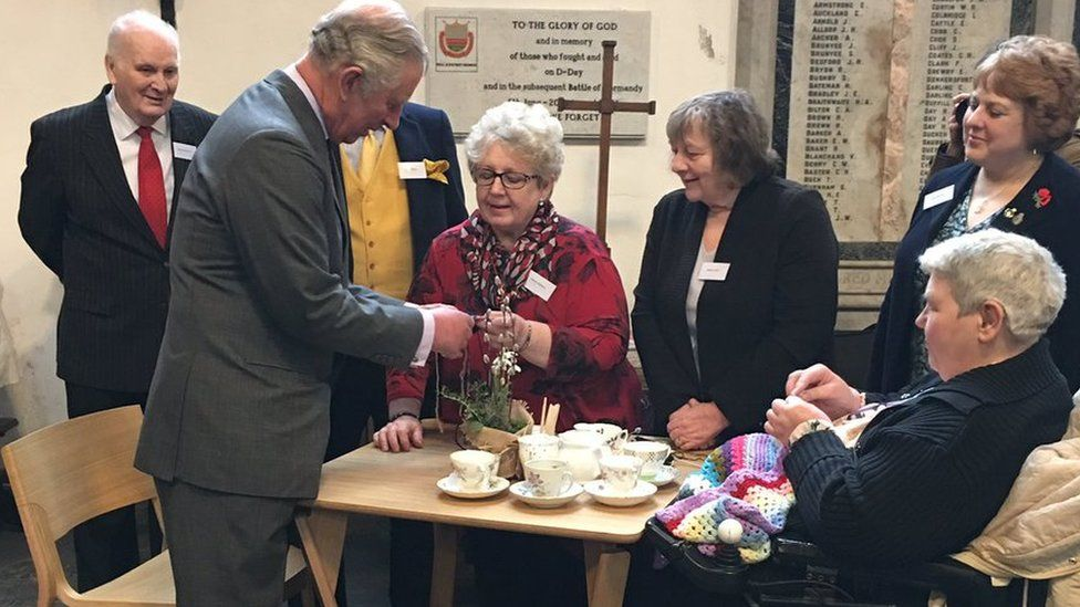Prince of Wales at Holy Trinity in Hull