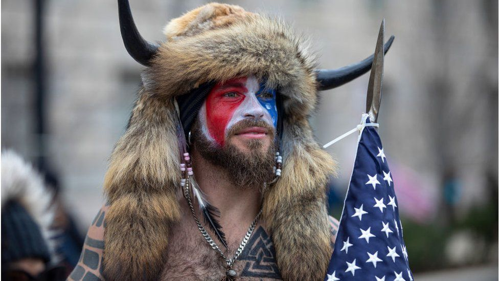 Capitol riot: 'QAnon Shaman' pleads guilty in federal court thumbnail