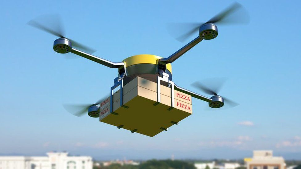 Delivery drones are already helping fulfil orders like coffee, takeaways and books