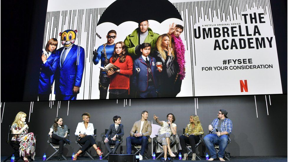 MCR Frontman Gerard Way created the comic book series The Umbrella Academy, which was adapted into a Netflix TV series