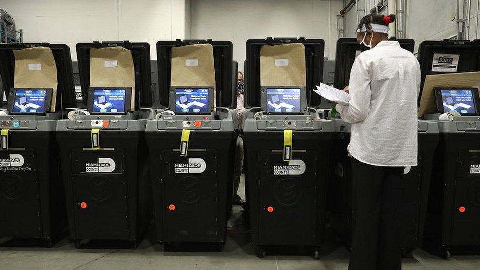 Dominion voting machines