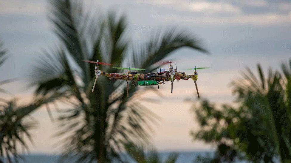Bamboo drone