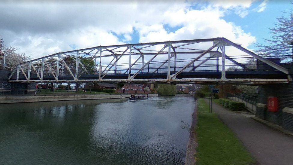 Gasworks Pipe Bridge