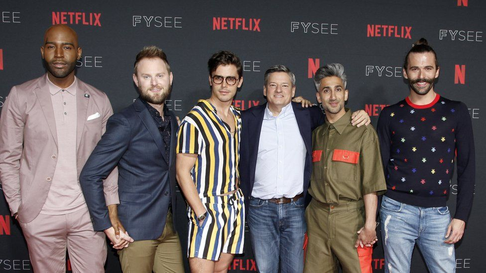 Queer Eye host backs viewers on Netflix subtitle change - BBC News
