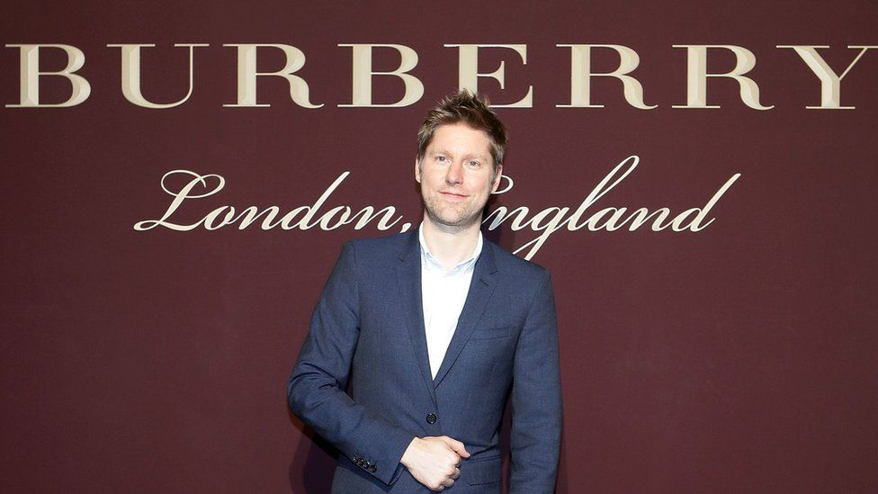 Christopher Bailey at the Burberry Seoul Flagship store