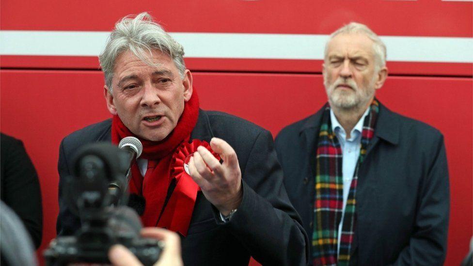 Richard Leonard and Jeremy Corbyn