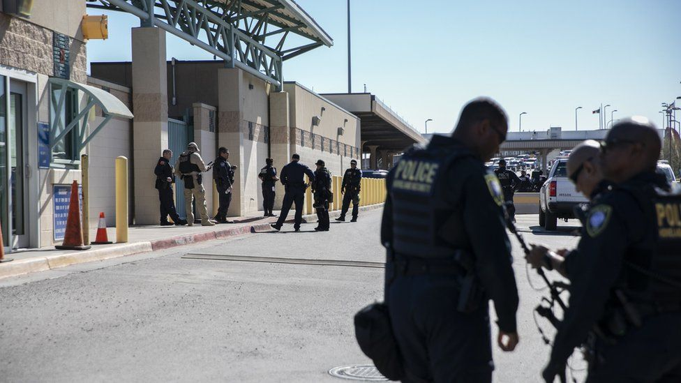 Guards at US-Mexico border