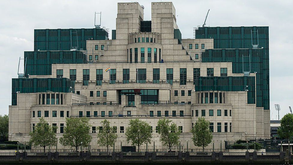 Secret Intelligence Service headquarters in Vauxhall, London
