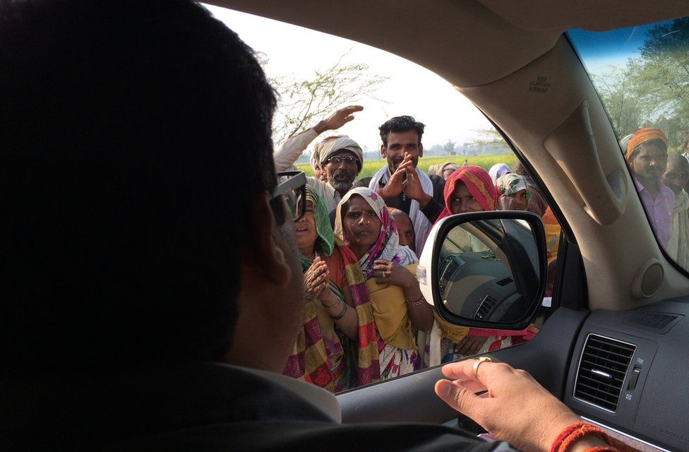 Raja Bhaiya supporters
