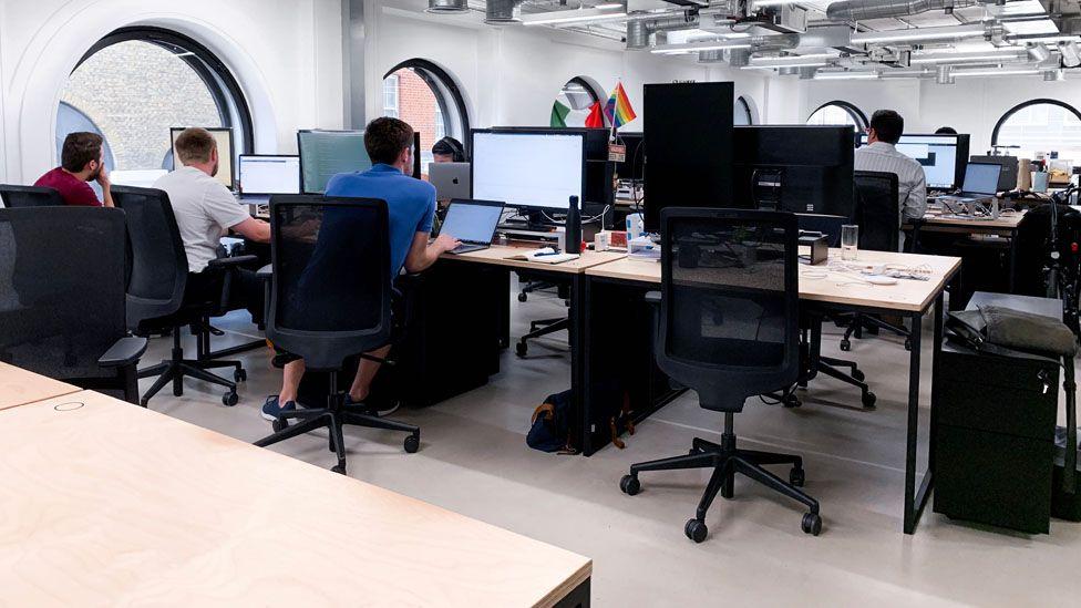 Curve's head office in London