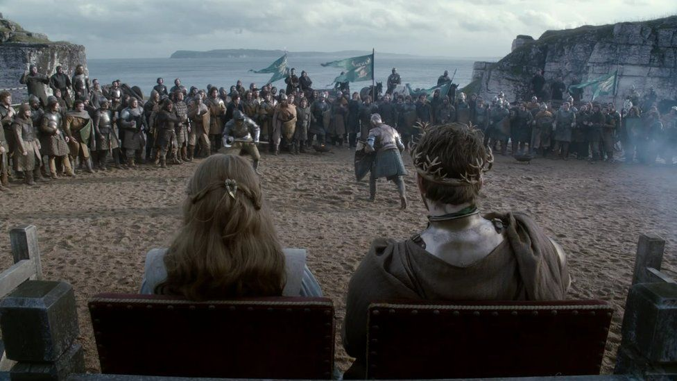 The worldwide hit fantasy drama receives generous tax breaks to film in Northern Ireland