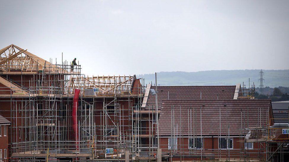 A housing development in Bristol