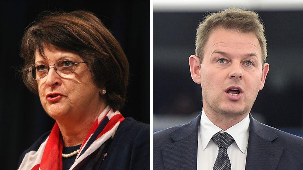 Catherine Bearder MEP and Daniel Dalton MEP