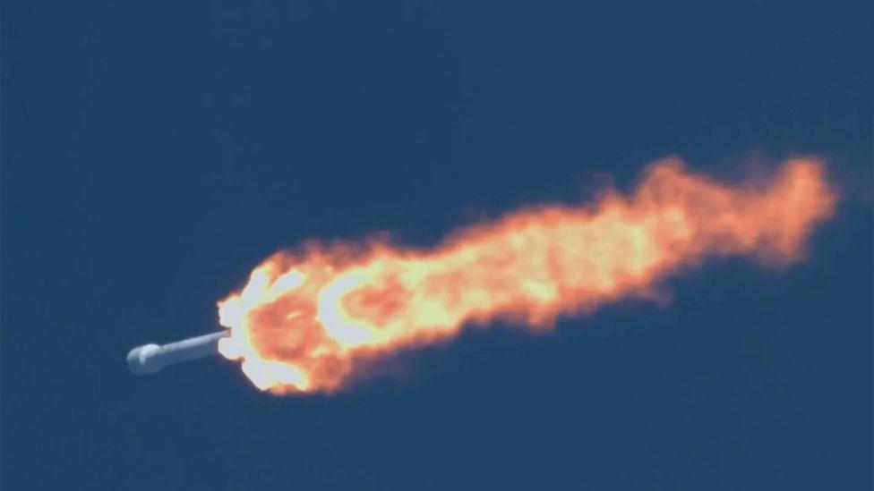 Falcon rocket