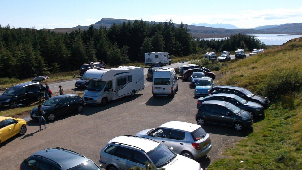 Parking near The Storr