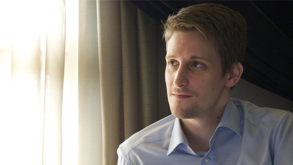 An undated photo made available by the Right Livelihood Award organisation in Stockholm, Sweden 24 September 2014 of fugitive US intelligence contractor Edward Snowden