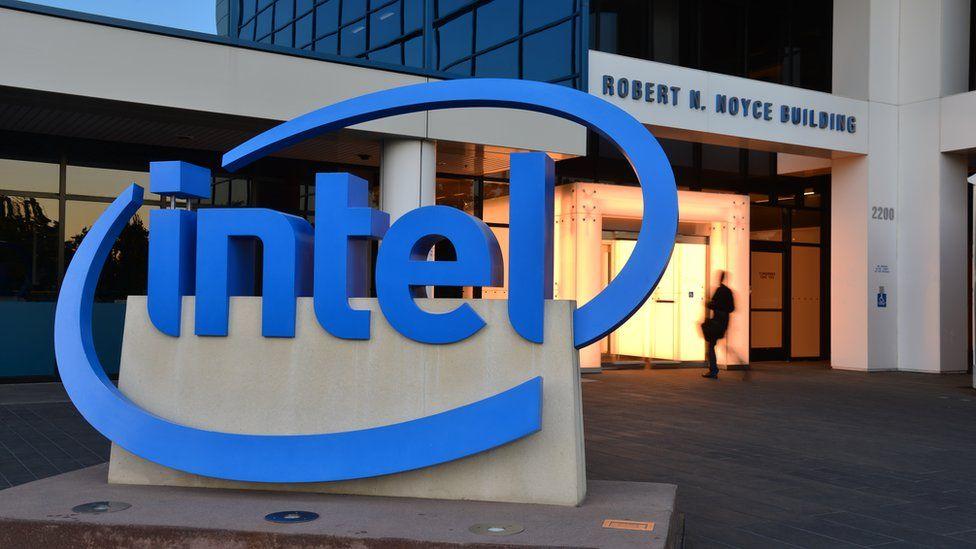 Intel's headquarters in Santa Clara, California