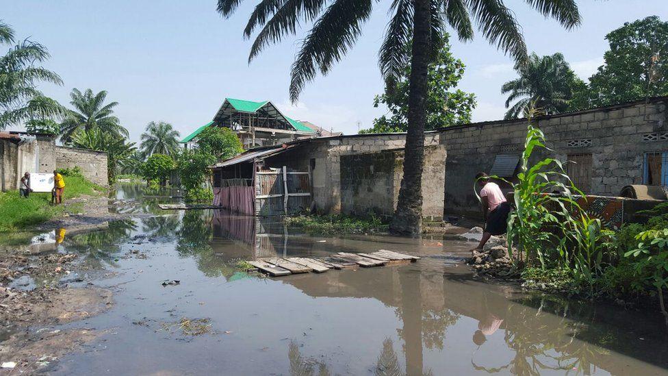 Floods in Kinshasa December 2015
