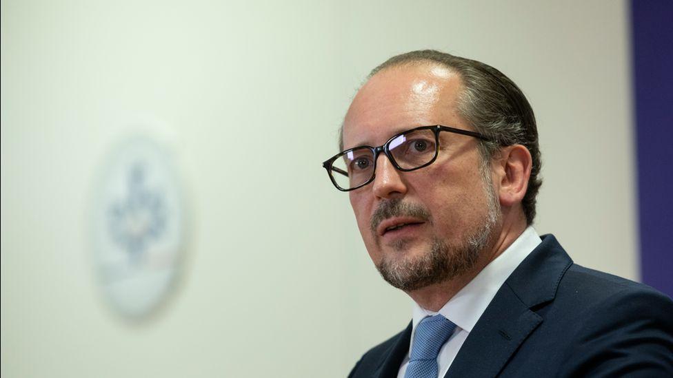 Austrian Chancellor Alexander Schallenberg