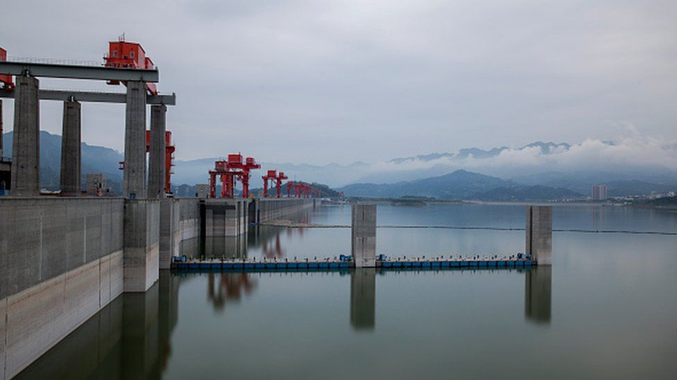 The Three Gorges Dam is the world's latest hydroelectric dam