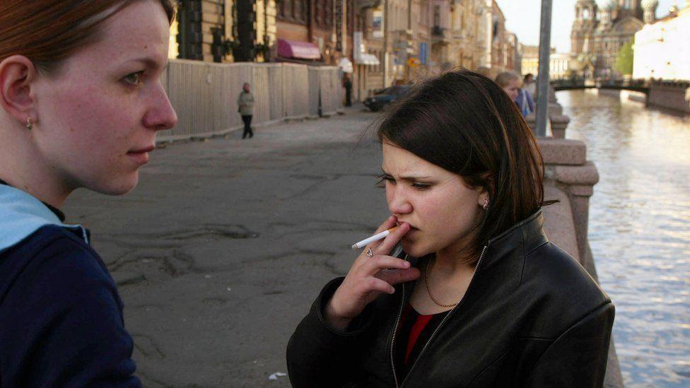 Russian smoking