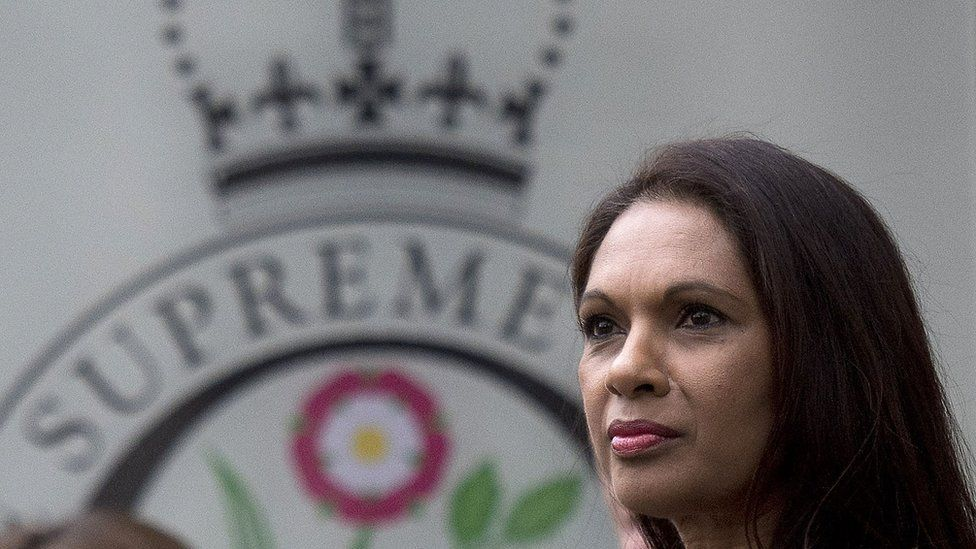 Gina Miller in the Supreme Court