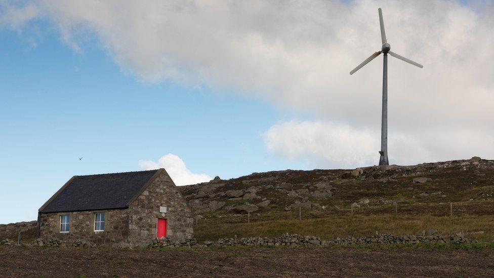 A house in Culswick, Shetland