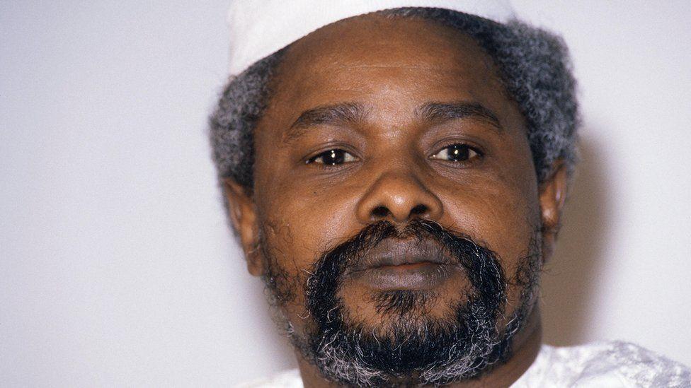 Former Chadian leader Hissene Habre