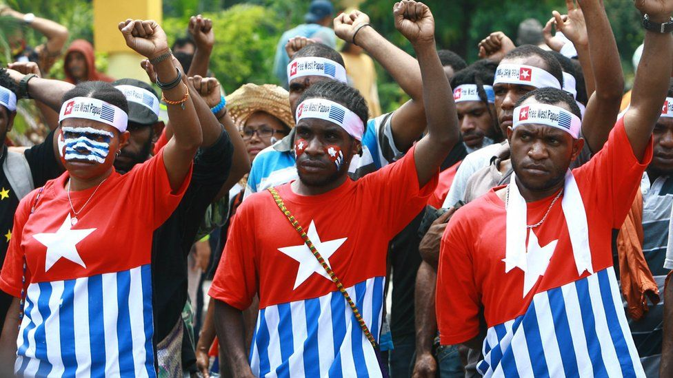 Free West Papua rally in 2013