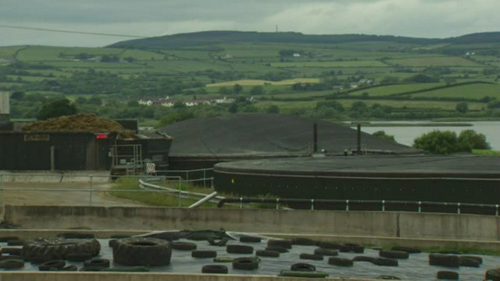 Tyrone green energy plant ordered for removal by council officials