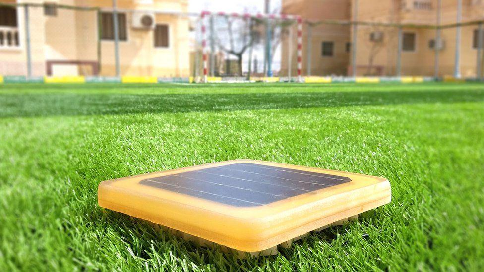 solar paving tile